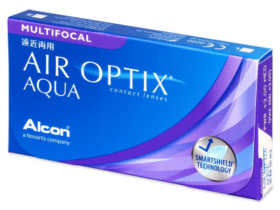 Air Optix Aqua Multifocal (3 kom leća) - Stariji dizajn