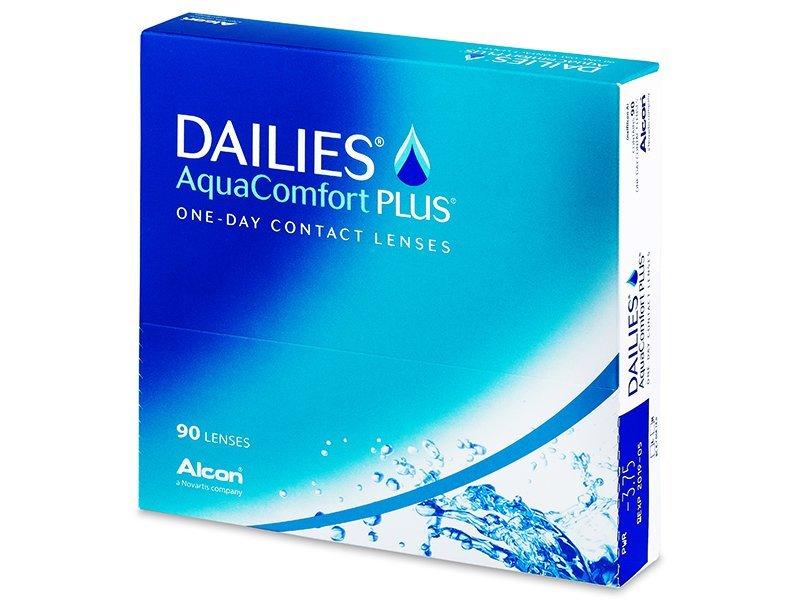 Dailies AquaComfort Plus (90komleća) - Jednodnevne kontaktne leće