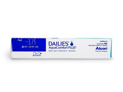 Dailies AquaComfort Plus (90komleća) - Pregled parametara leća