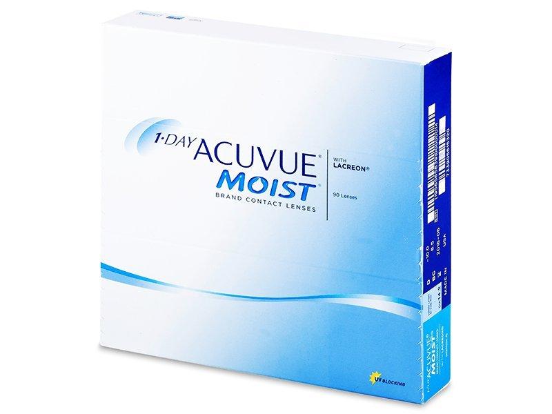 1 Day Acuvue Moist (90komleća) - Jednodnevne kontaktne leće