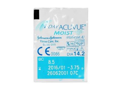 1 Day Acuvue Moist (90komleća) - Pregled blister pakiranja