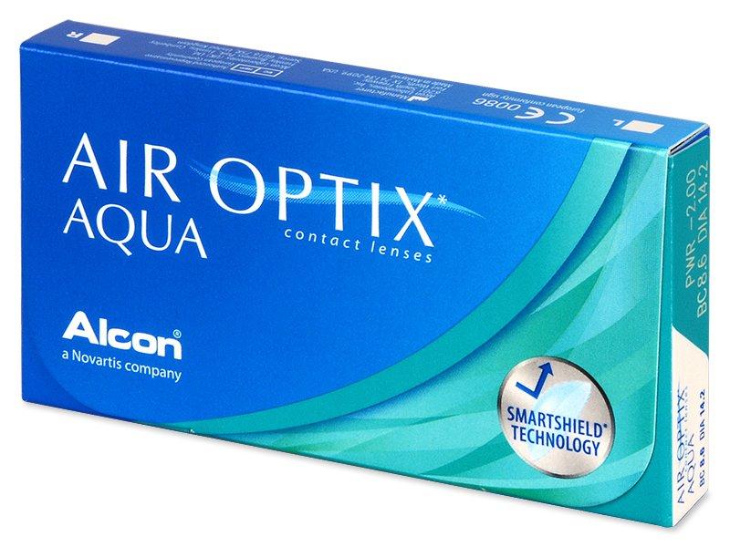 Air Optix Aqua (6komleća) - Mjesečne kontaktne leće