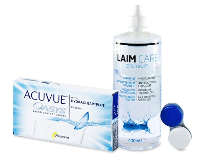 Acuvue Oasys (6 kom leća) + Laim-Care 400 ml