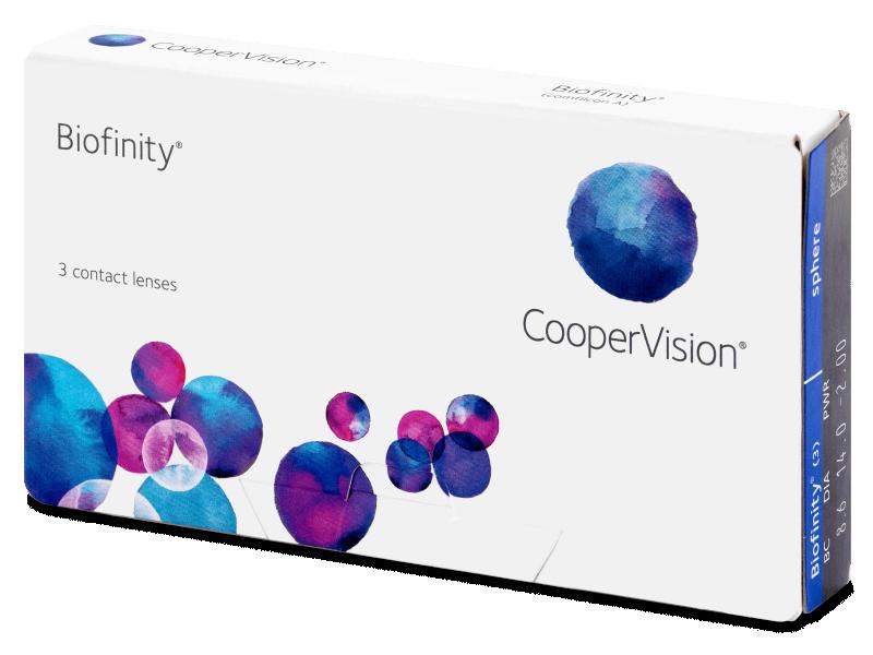 Biofinity (3komleća) - Mjesečne kontaktne leće
