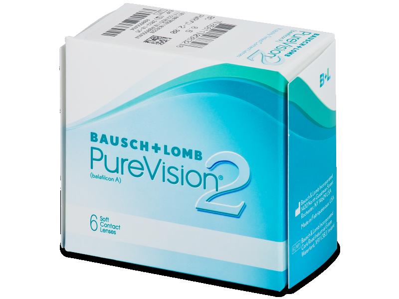 PureVision 2 (6komleća) - Mjesečne kontaktne leće