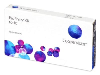 Biofinity XR Toric (3 kom leća)