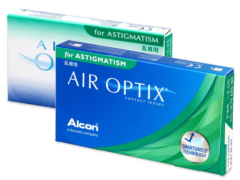 Air Optix for Astigmatism (6 kom leća) - Torične kontaktne leće