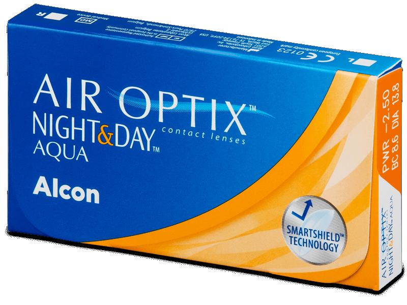 Air Optix Night and Day Aqua (6komleća) - Mjesečne kontaktne leće